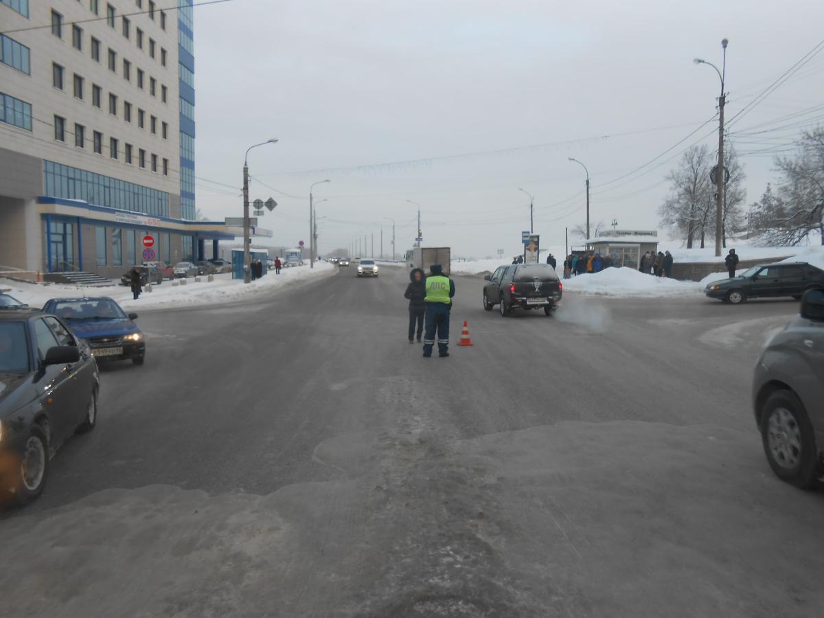 На улице Профсоюзной сбили женщину-пешехода.