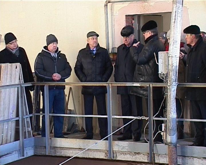 Строительство водонапорной станции в Куменском районе