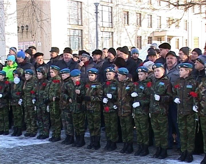 В Кирове и области отметили 27-ой годовщину вывода советских войск из Афганистана