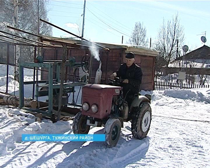 Изобретатель из Шешурги Павел Русинов