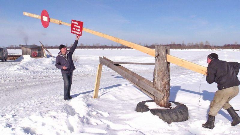 В Малмыжском районе под лед ушел «УАЗ»