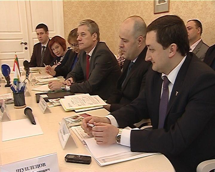 В Кирове с деловым визитом находится делегация Гомельской области Республики Беларусь