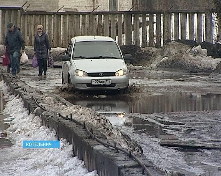 Дорогу в микрорайон мостопоезд отремонтируют по ППМИ