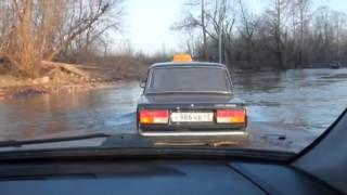 20 апреля в Кирове будет подтоплена дорога в сторону микрорайона КМДК.