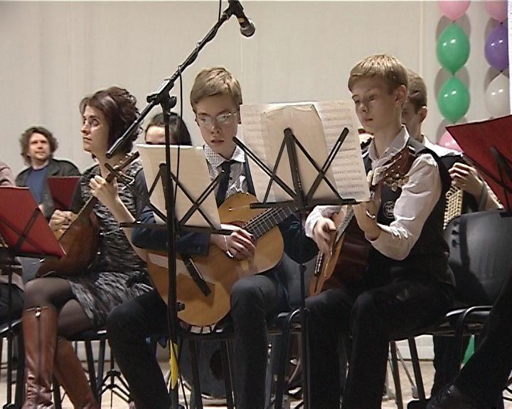 Юбилейный концерт детской школы искусств №11