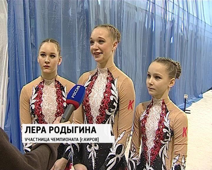 Кировские акробаты взяли серебро командного Чемпионата России