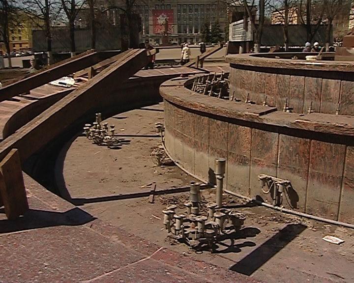Открытие фонтанов