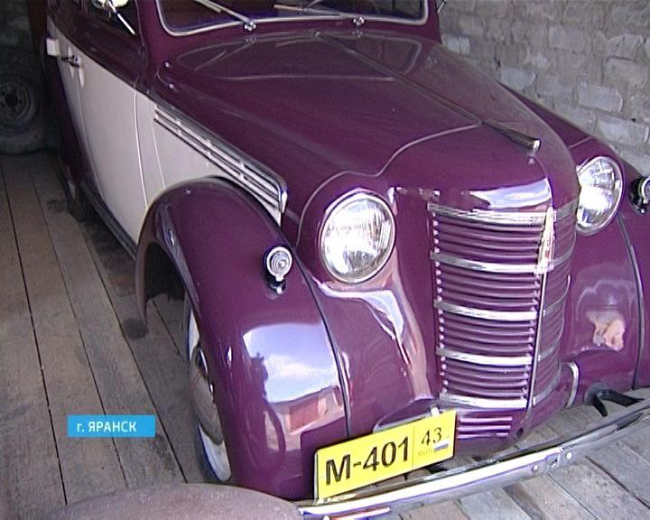 Умелец из Яранска создает ретро-автомобили