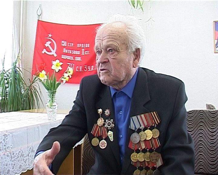 Ветеран из Орлова Николай Боровской поделился воспоминаниями о своей фронтовой жизни
