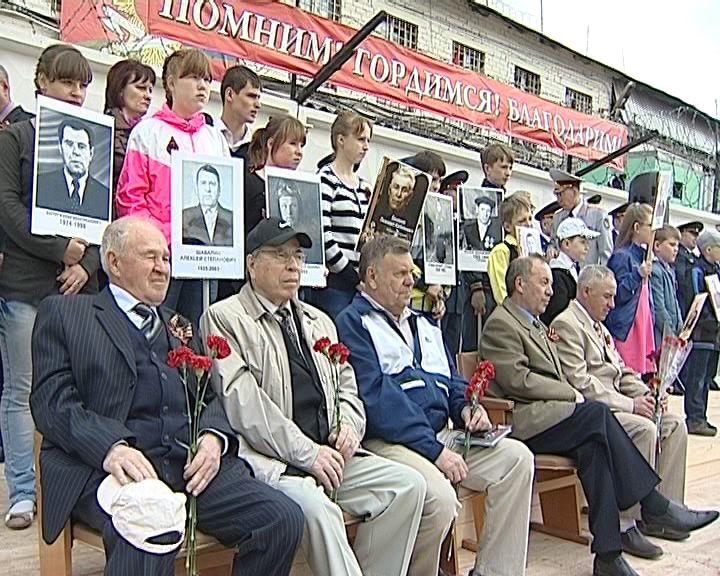 Сотрудники Кировского УФСИН поздравили своих ветеранов с Днем Победы
