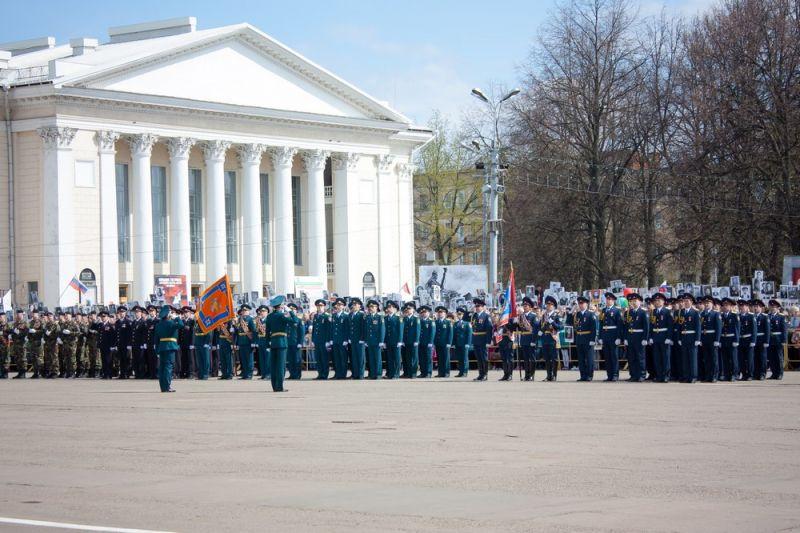 В Кирове состоялся Парад Победы.