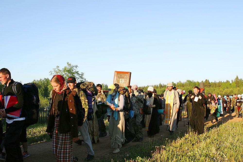 В селе Великорецком готовятся к встрече крестного хода.
