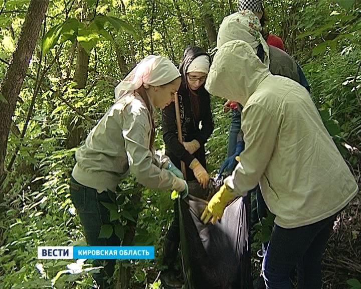 Берега реки Люльченки теперь чисты