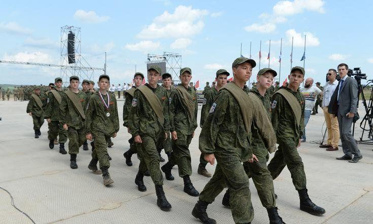 Кировские подростки в лагере ПФО «Гвардеец»