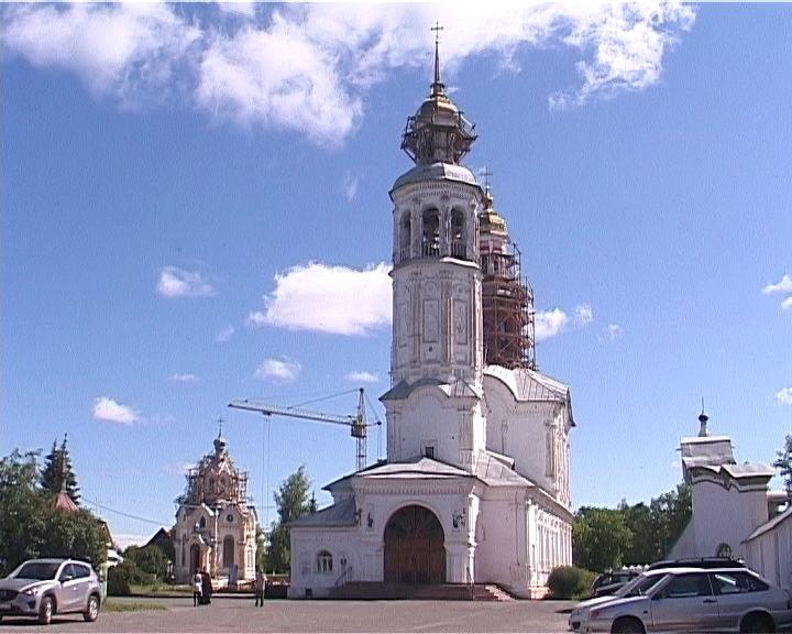 Восстановление Троицкого храма в поселке Макарье