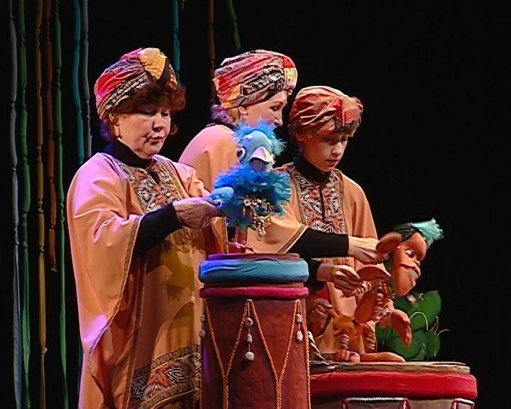 Закрытие сезона в театре кукол