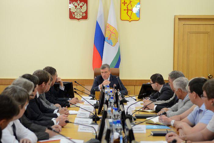 Игорь Васильев провёл первое совещание с членами Правительства Кировской области.