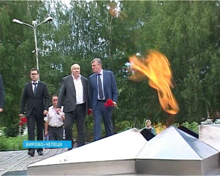 Врио Губернатора Игорь Васильев посетил с рабочим визитом Кирово-Чепецк