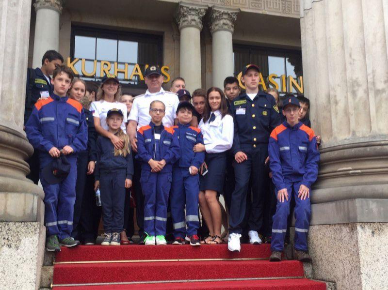 Кировчане принимают участие в международном слёте юных пожарных в Германии.
