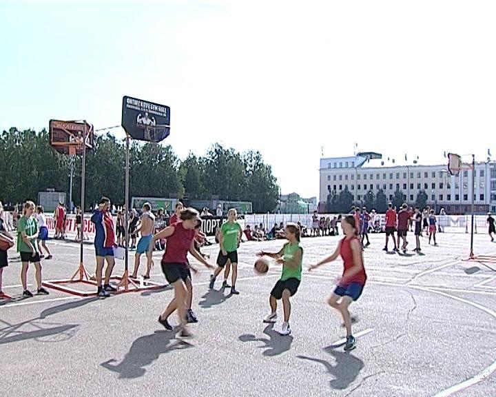 Фестиваль уличного баскетбола
