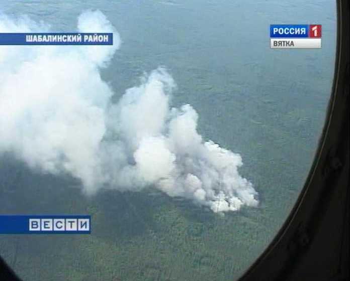 Большинство пожаров в кировских лесах - по вине граждан