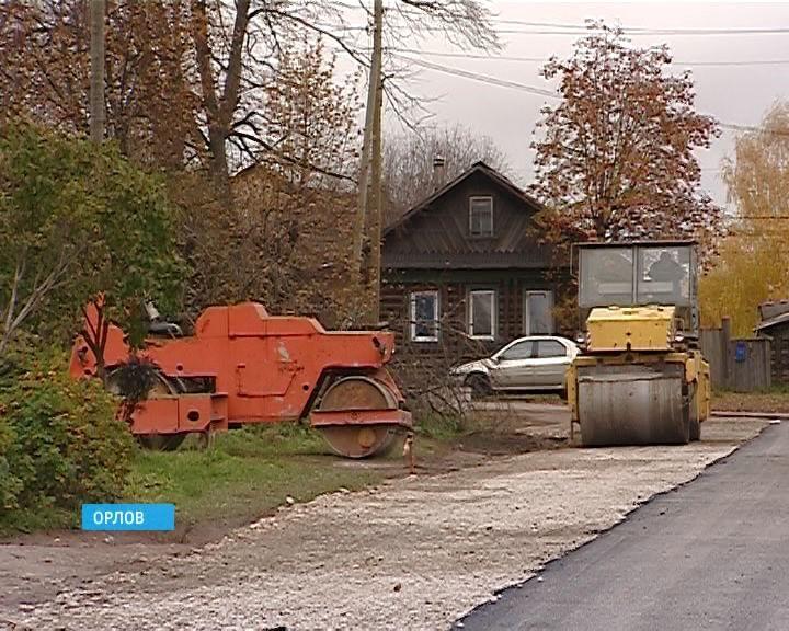 Проблемы с дорогами в Орлове