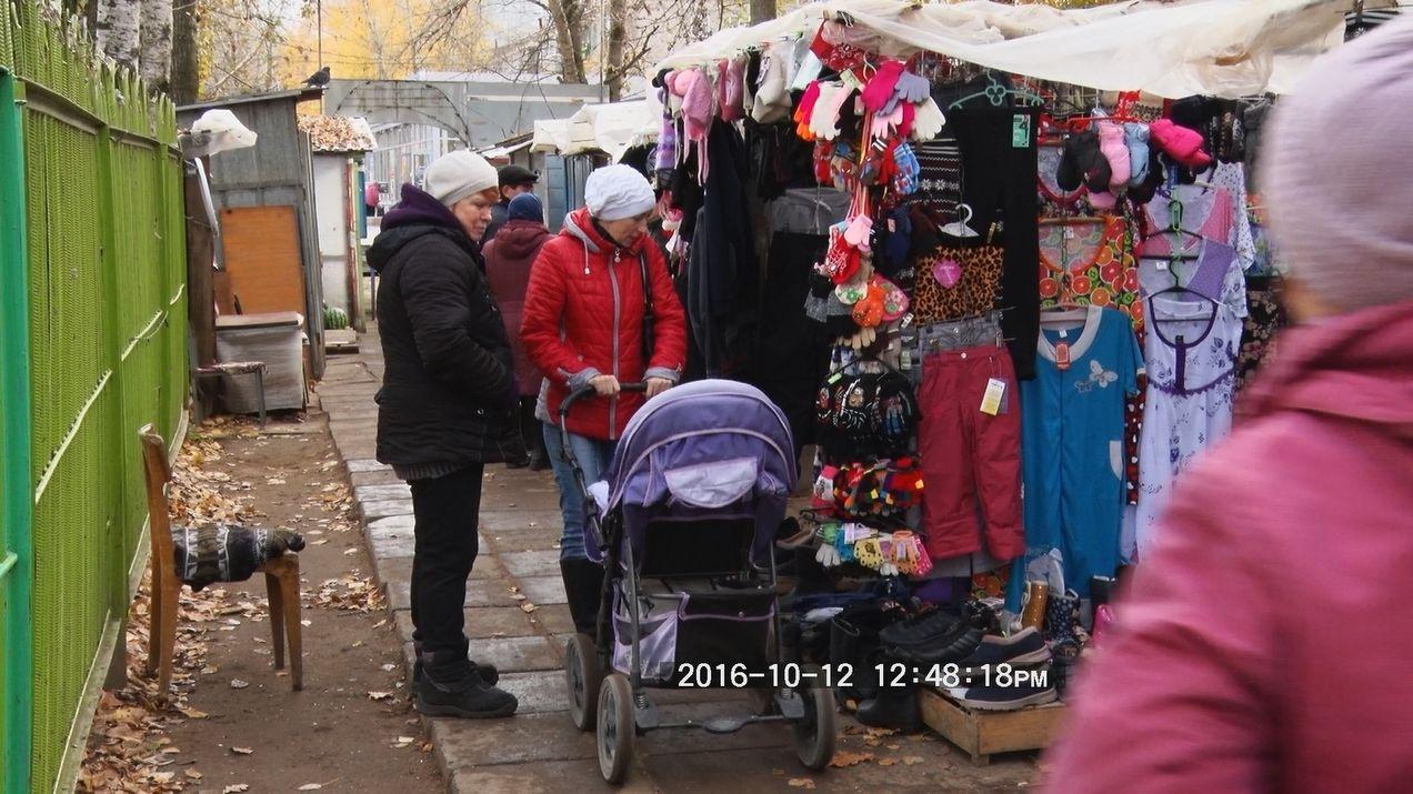 В Кирове не закроют ярмарку на улице Павла Корчагина