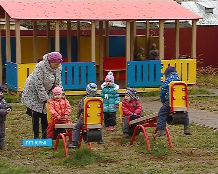 В Юрье построили новое здание детского сада