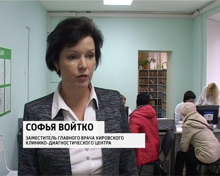 Квесне 2017 вкировских поликлиниках обновят регистратуры