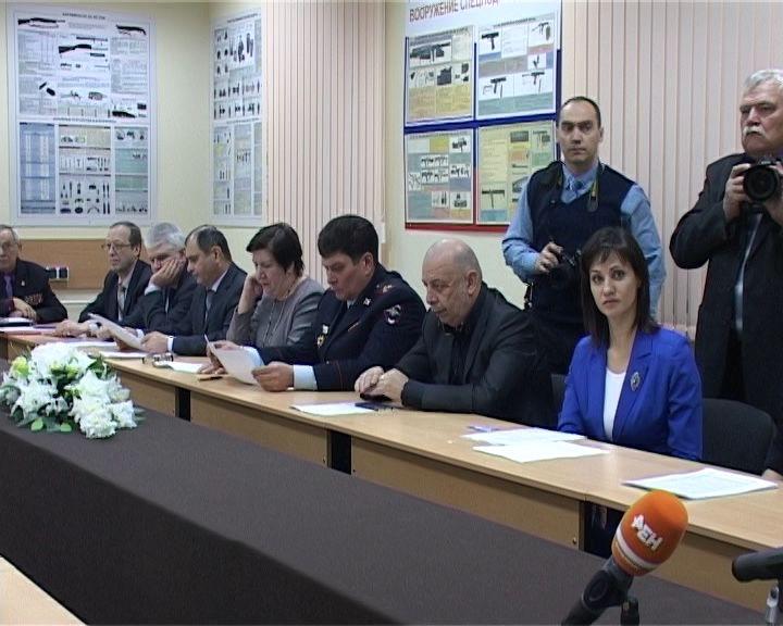 Заседание общественного совета при УМВД