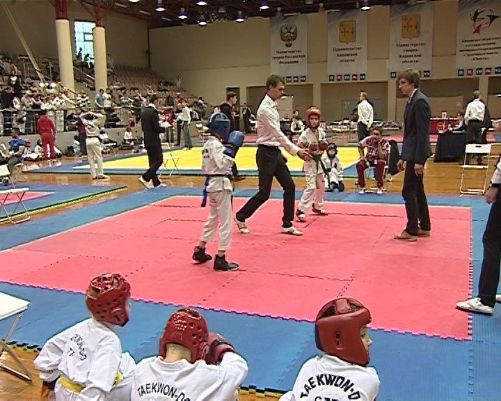 В Кирове состоялись Чемпионат и Первенство области по тхэквондо