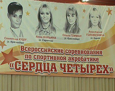 В Киров приехали лучшие спортивные акробаты России.