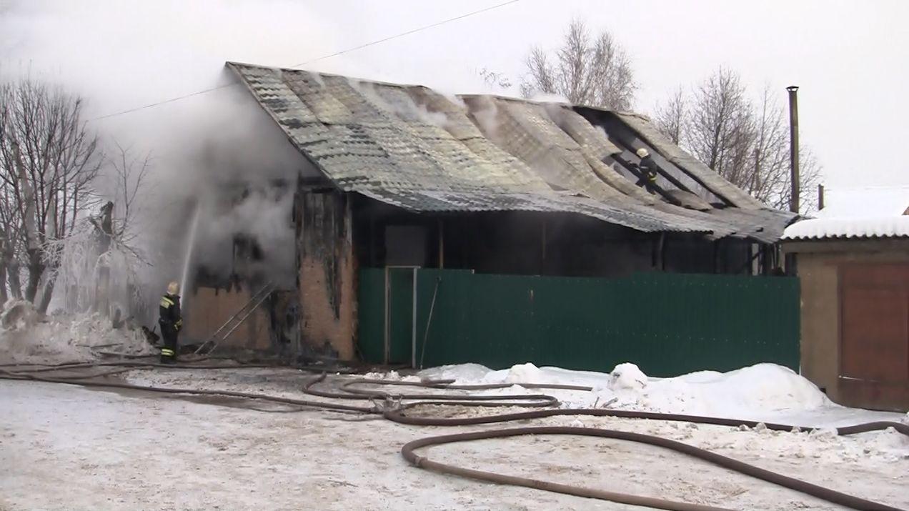 В Слободском в огне погибли два ребенка и женщина