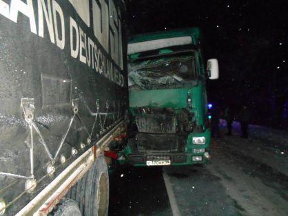 ВОмутнинском районе фура насмерть задавила автоинспектора, который оформлял ДТП