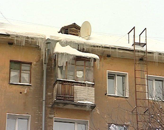 В Кирове продолжается акция «Безопасная крыша»
