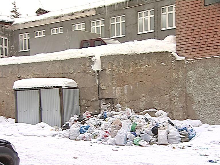 Прокуратура проверит почему не вывозился мусор в Кирове