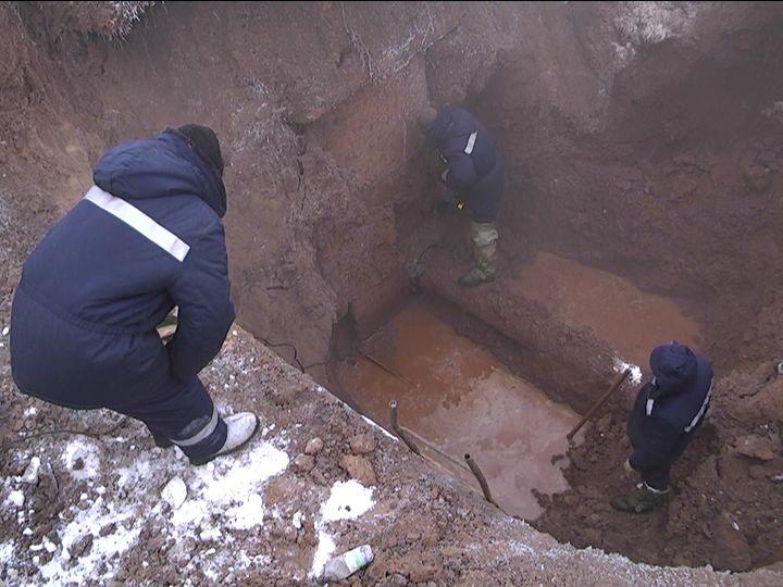 В Кирово-Чепецке - новый прорыв водопровода