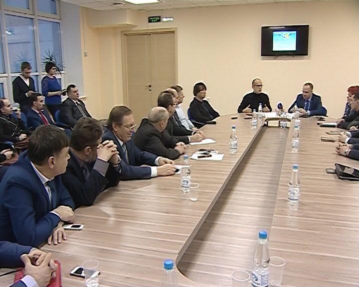 Киров посетил секретарь Общественной палаты РФ Александр Бречалов