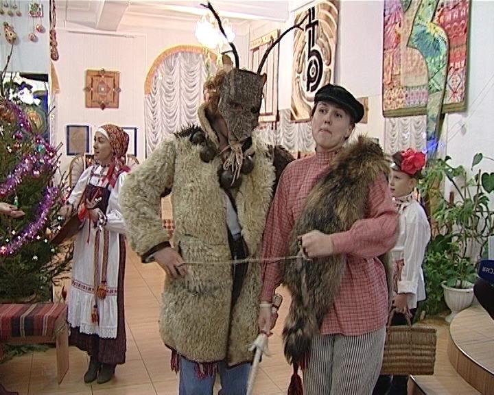 Святки в историко-краеведческом клубе