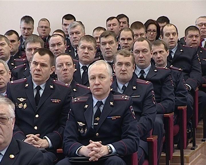 Коллегия УМВД о результатах работы кировской полиции в 2016 году
