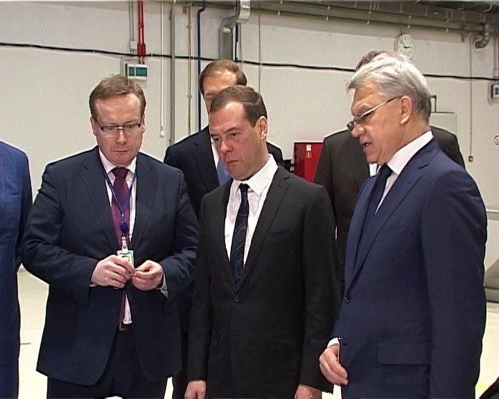 Визит Дмитрия Медведева в Киров