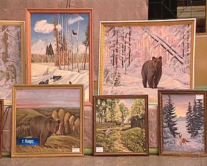 Выставка художника Сергея Наймушина