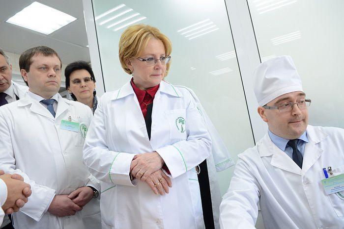 Вероника Скворцова оценила качественные изменения в здравоохранении Кировской области.