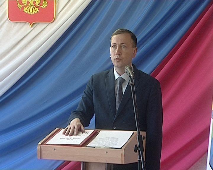 Инаугурация главы Зуевского района