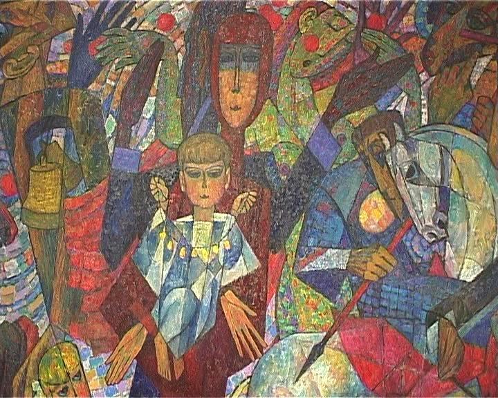 Юбилейная выставка заслуженного художника России Александра Мочалова
