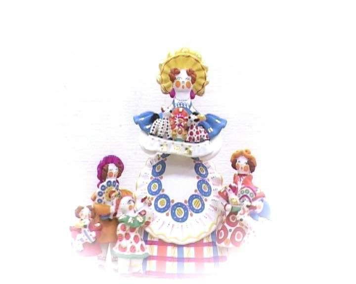 Дымковская игрушка угодила вТОП-25 русских всенародных промыслов