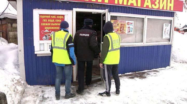 40 литров алкоголя изъяли полицейские изкиоска наулице Ульяновской