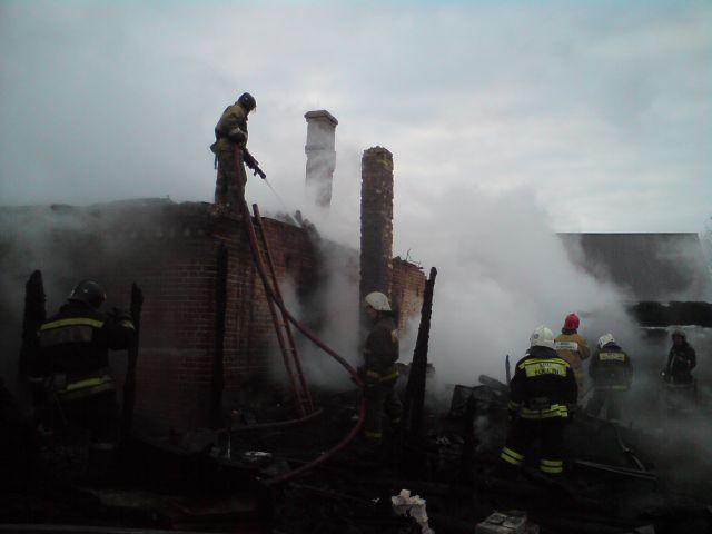 ВКировской области впожаре погибли четыре человека