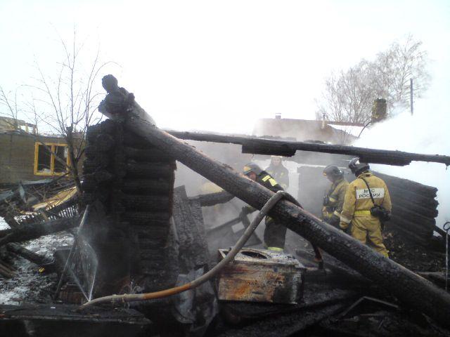 ВКировской области в итоге пожара погибли 4 человека