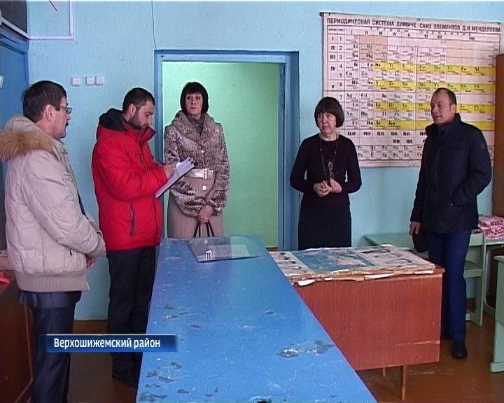 Крыша школы в селе Мякиши Верхошижемского района не выдержала оттепели